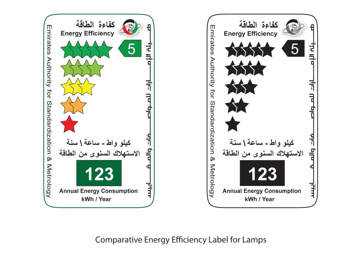 Comp Energy Efficieny label Lamps
